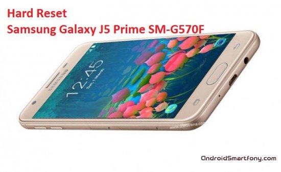 Hard Reset Samsung Galaxy J5 Prime SM-G570F - сброс настроек, пароля, графического ключа