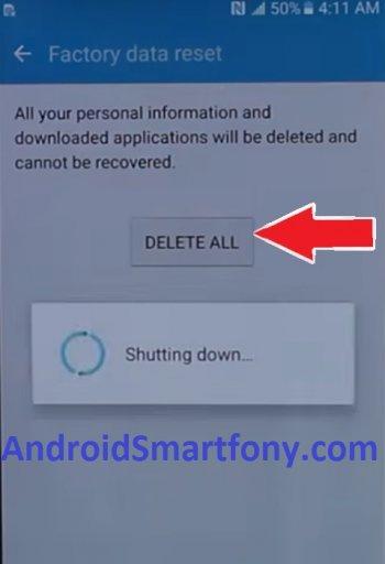 Hard Reset Samsung Galaxy A5 2017 SM-A520F/DS - сброс настроек, пароля, графического ключа
