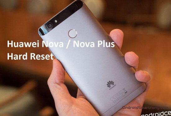 Hard Reset Huawei Nova / Nova Plus - сброс настроек, пароля, графического ключа