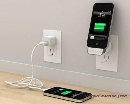 как зарядить новую батарею телефона