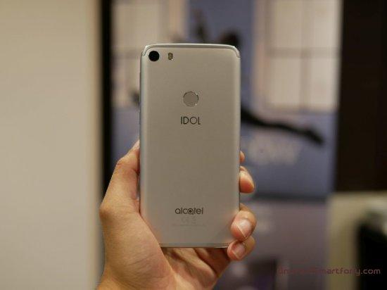 Краткое знакомство со смартфоном Alcatel Idol 5