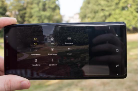 двойная камера Galaxy Note 8
