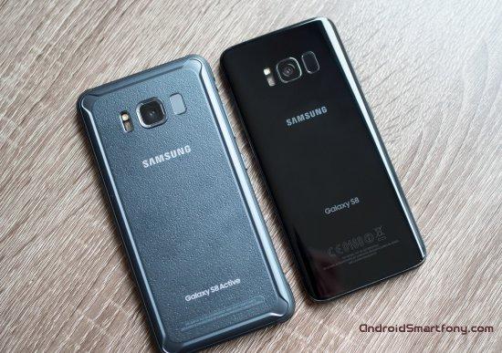 Samsung Galaxy S8 vs Galaxy S8 Active
