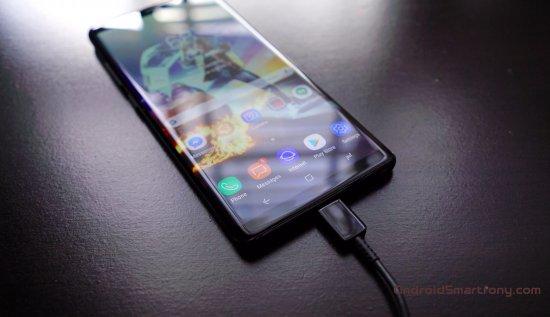 Анализ продолжительности автономной работы Samsung Galaxy Note 8