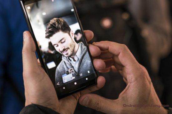 портретная съемка Google Pixel 2 XL