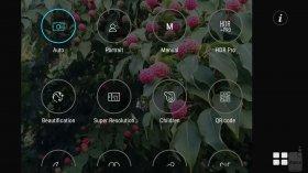 интерфейс камеры Asus ZenFone 3 Zoom