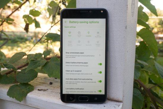 автономность Asus ZenFone 4 Max