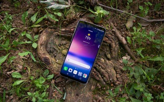 LG V30 - 4-е место в списке безрамочных смартфонов 2017