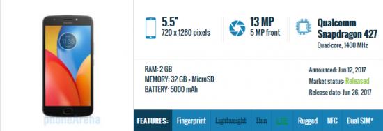 Moto E4 Plus - лучший бюджетный смартфон по цене