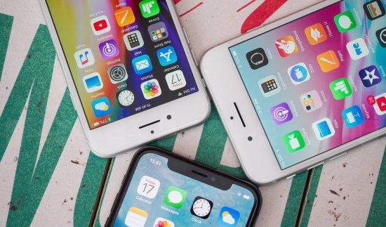 Сравнение Apple iPhone X, iPhone 8 и iPhone 8 Plus