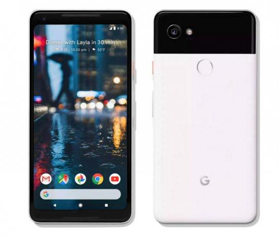 экран Google Pixel 2