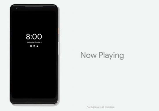 Always On Display в Google Pixel 2