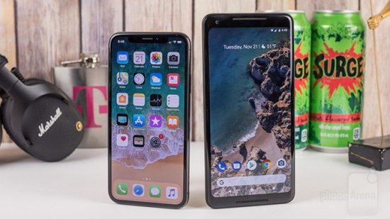 Сравнительный обзор Apple iPhone X vs Google Pixel 2 XL