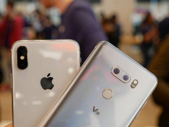 Сравнительный обзор iPhone X и LG V30