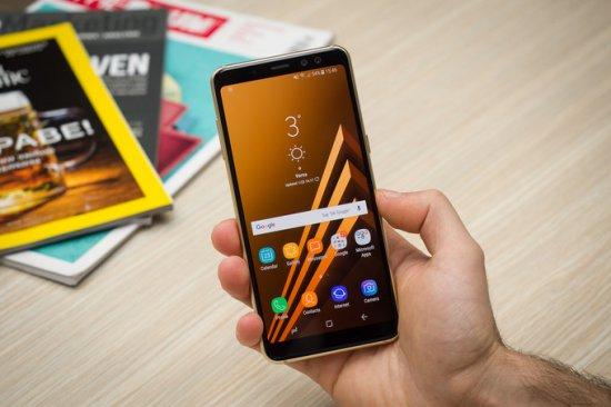 Дизайн Galaxy A8 2018