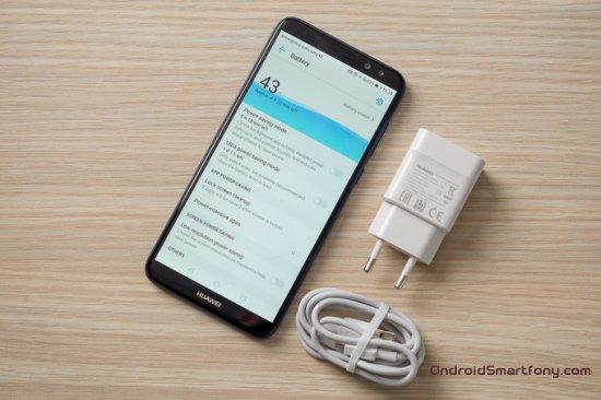 автономность Huawei Mate 10 Lite