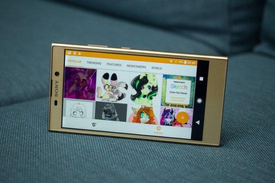 Sony Xperia L2 экран