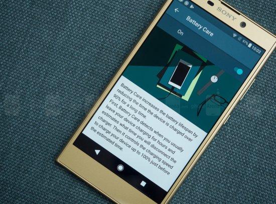 автономность Sony Xperia L2