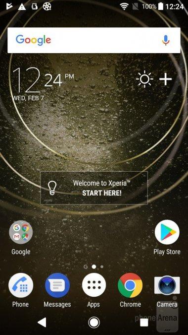 Sony Xperia L2 интерфейс