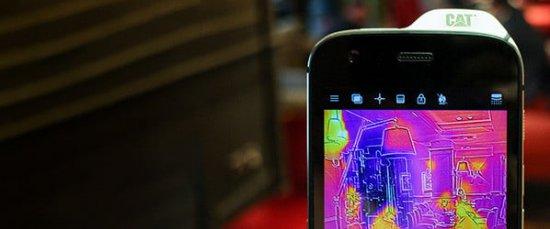 Обзор защищенного Cat S61 - тепловизор, лазерный дальномер, датчик качества воздуха и др.