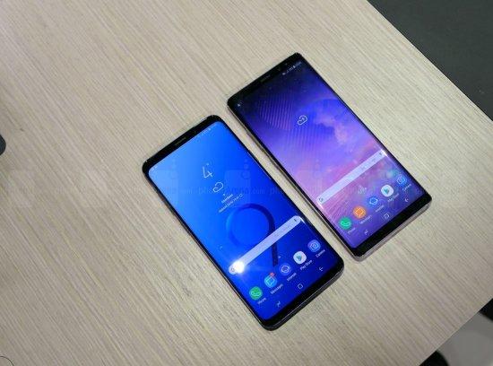 Сравнительный обзор смартфонов Samsung Galaxy S9+ и Galaxy Note 8