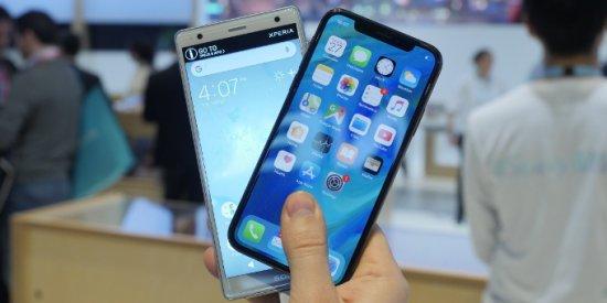 Дизайн Xperia XZ2 vs iPhone X