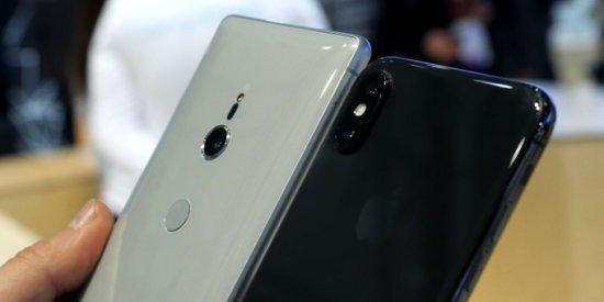 Камеры Xperia XZ2 vs iPhone X