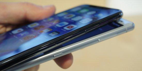 дисплей Xperia XZ2 vs iPhone X