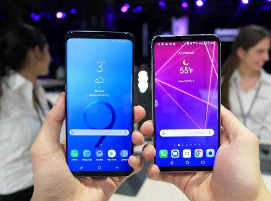 Сравнительный обзор смартфонов Samsung Galaxy S9+ и LG V30