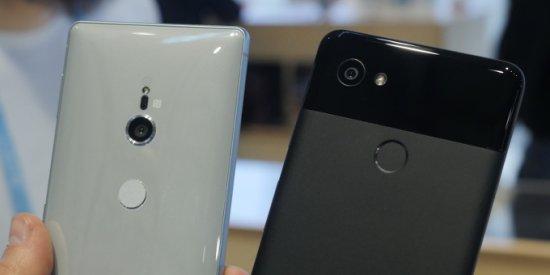 камеры Sony Xperia XZ2 vs Google Pixel 2 XL