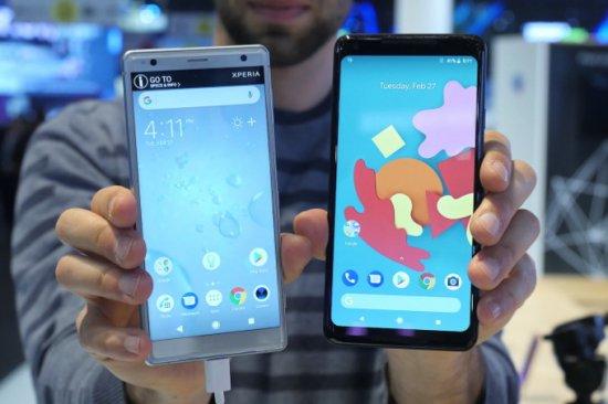 Сравнительный обзор смартфонов Sony Xperia XZ2 и Google Pixel 2 XL