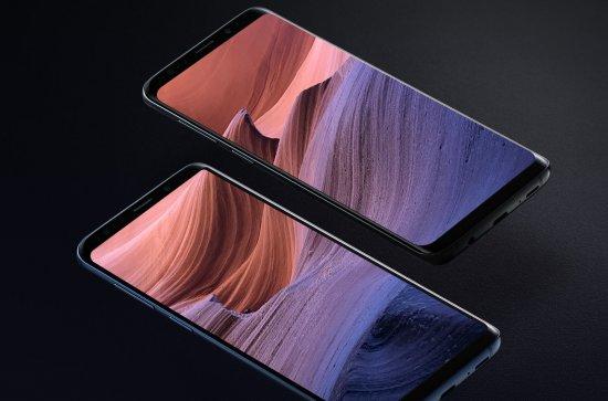 физические кнопки Galaxy S9 vs S8