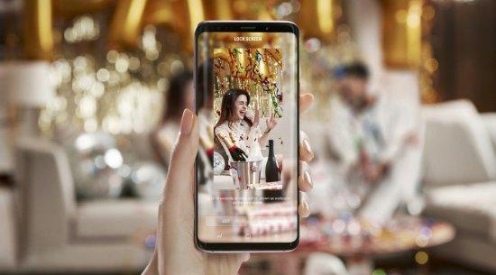 соотношение размеров экрана к корпусу  Galaxy S9 vs S8