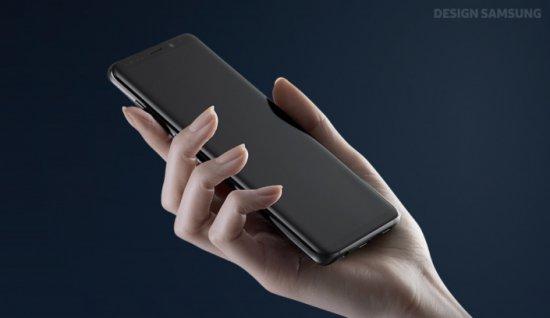 толстое стекло в Galaxy S9
