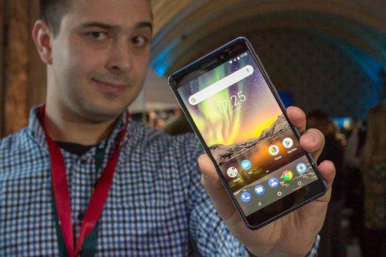 Первый взгляд на смартфон Nokia 6 2018
