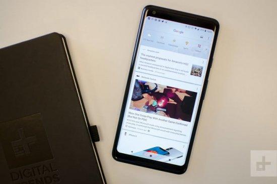 Программное обеспечение Galaxy S9 Plus и Pixel 2 XL