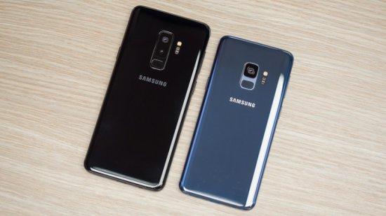дизайн Samsung Galaxy S9 и Galaxy S9 Plus