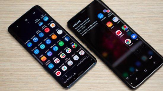 Интерфейс Galaxy S9 и S9 Plus