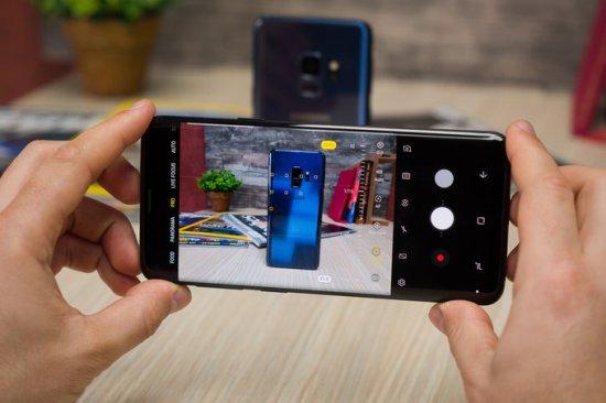 Камеры Galaxy S9 и Galaxy S9+