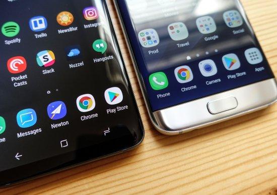 Samsung Galaxy S9 Plus vs Galaxy S7 Edge
