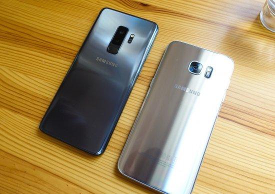 Galaxy S9 Plus vs Galaxy S7 Edge