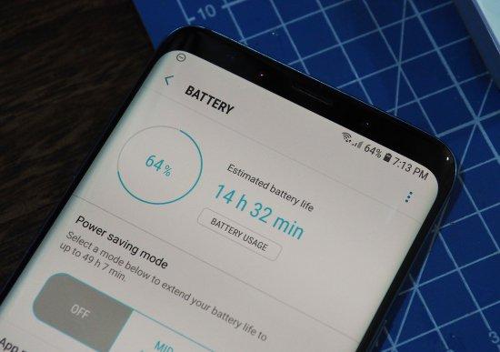 автономность Galaxy S9+