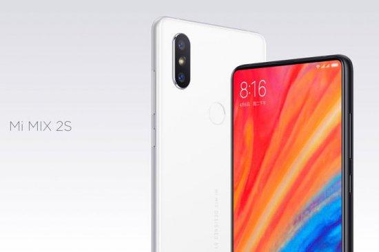 Анонсирован смартфон Xiaomi Mi Mix 2S