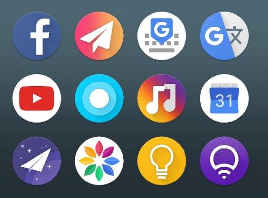 Лучшие новые паки иконок для Android (Март 2018)