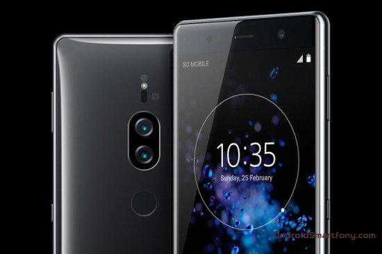 Sony анонсировала смартфон Xperia XZ2 Premium