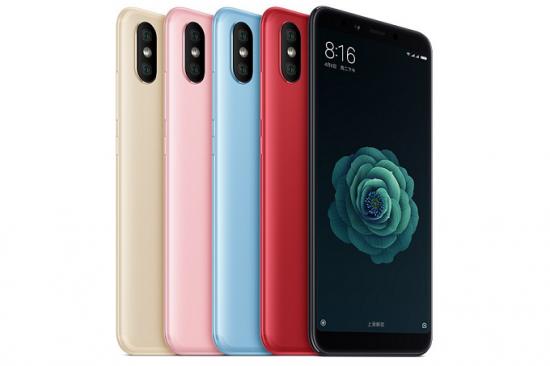 Представлен смартфон Xiaomi Mi 6X