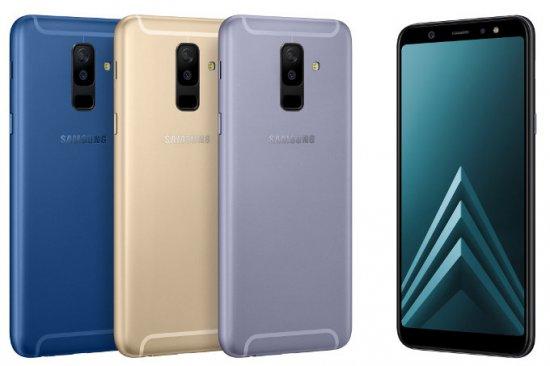 Анонсированы смартфоны Samsung Galaxy A6 и A6 Plus