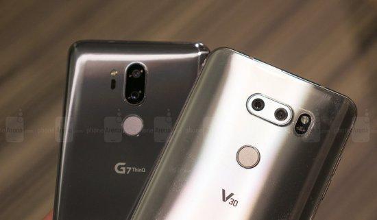 Сравнительный обзор LG G7 ThinQ и LG V30