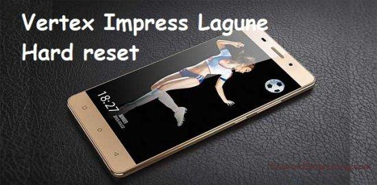Hard reset Vertex Impress Lagune - сброс настроек, пароля, ключа
