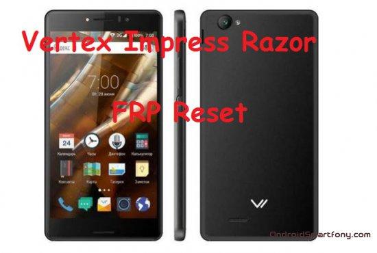 Как на Vertex Impress Razor сбросить Google аккаунт (обход Google FRP)